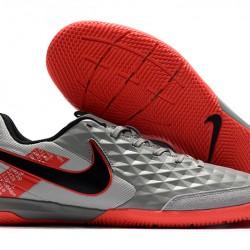 Nike Legend VIII Academy IC Grey Red Black 39-46