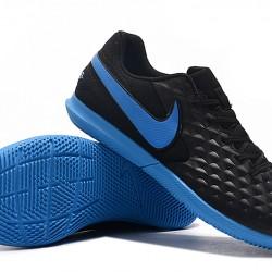 Nike Tiempo Legend VIII Club IC Black Blue 39-45