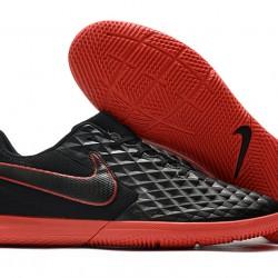 Nike Tiempo Legend VIII Club IC Black Red 39-45