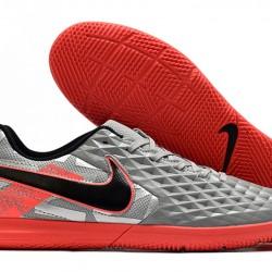 Nike Tiempo Legend VIII Club IC Grey Red Black 39-45