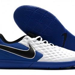 Nike Tiempo Legend VIII Club IC White Blue Black 39-45
