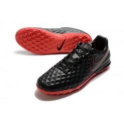 Nike Tiempo Legend VIII Pro TF Black Red 39-45