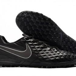 Nike Tiempo Legend VIII Pro TF Black Silver 39-45