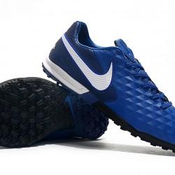 Nike Tiempo Legend VIII Pro TF Blue White 39-45