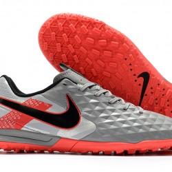 Nike Tiempo Legend VIII Pro TF Grey Red Black 39-45