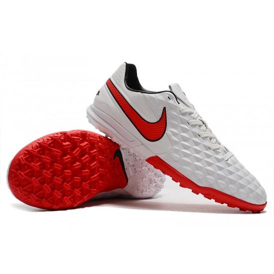 Nike Tiempo Legend VIII Pro TF White Red 39-45