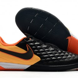 Nike Tiempo Lunar Legend VIII Pro IC Black Orange 39-45