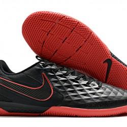 Nike Tiempo Lunar Legend VIII Pro IC Black Red 39-45
