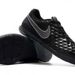 Nike Tiempo Lunar Legend VIII Pro IC Black Silver 39-45