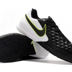 Nike Tiempo Lunar Legend VIII Pro IC Black White Green 39-45
