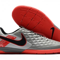 Nike Tiempo Lunar Legend VIII Pro IC Grey Red Black 39-45