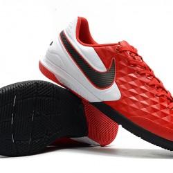 Nike Tiempo Lunar Legend VIII Pro IC Red White Black 39-45