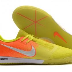 Nike Zoom Phantom VNM Pro IC Yellow Orange Silver 39-45